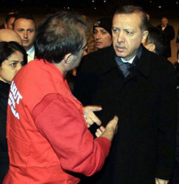 Prime Minister Erdoğan went to the disaster area in Van