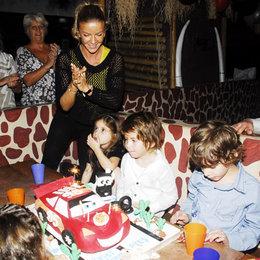 İvana  oğluna doğum günü partisi düzenledi