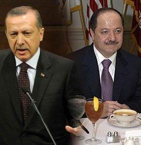 Erdoğan, Barzani ile görüştü