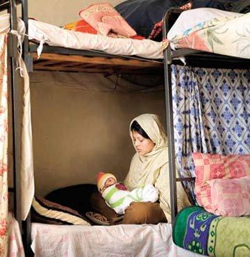 Afgan kadınına  AB sansürü