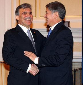 Cumhurbaşkanı Gül Kırgızistan'da