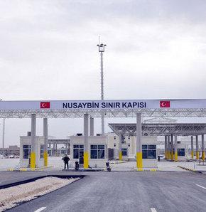Suriye, Mardin'in Nusaybin ilçesindeki sınır kapısını kapattı.