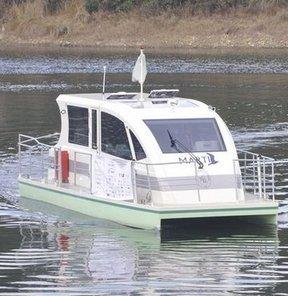 İTÜ'nün hidrojenli teknesi suya indi