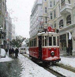Mega kent istanbul dan kar manzaraları galeri video