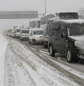Meteorolojiden uyarı!-İstanbul-Kar yağışı
