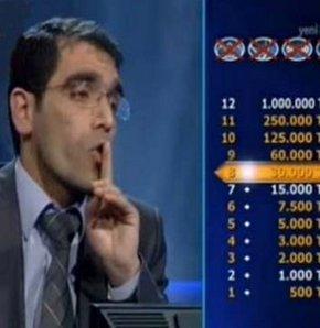 Kim Milyoner Olmak ister'de tuhaf yarışmacı