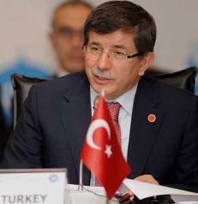 Davutoğlu: Suriye için uluslararası konferans kurulsun