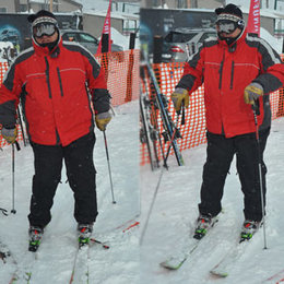 Koç'un kayak keyfi...