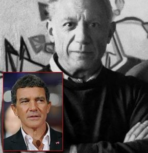 Antonio Banderas, Picasso oluyor!