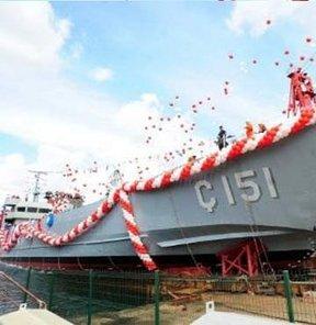 Ç-151 Türk Deniz Kuvvetleri Savunma Sanayi NATO standartları Süratli amfibi gemi