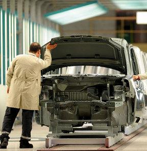 Otomotiv üretimi hız kesti!