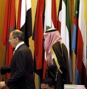 Suriye Arap Birliği Arap Barış Gücü Katar Rusya Suudi Arabistan Hamad bin Casım Sergey Lavrov