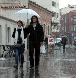 yağmurlu hava