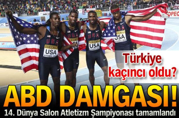 Şampiyonaya ABD damgası!