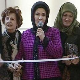 Erdoğan'dan sergi açılışı