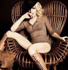 Dört çocuk annesi Madonna