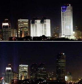 Türkiye İş Bankası Earth Hour Dünya Saati WWF iklim değişikliğiyle mücadele