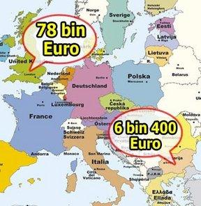 Avrupa Birliği kişi başına düşen milli gelir gelir uçurumu En yüksek kişi başına gelir En düşük kişi başına gelir Bulgaristan Romanya Londra Lüksemburg Eurostat