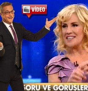 Çiğdem Tunç'tan Mehmet Ali Erbil'e Alt Üst Muhabbetler'de yanıt