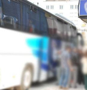 Şehirlerarası otobüste pornografik taciz