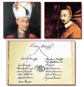 4. Mehmed ile Papa 7. Alessandro akrabaymış