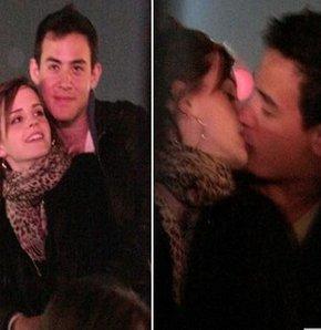 Emma Watson ve Will Adamowicz'in ateşli öpücüğü