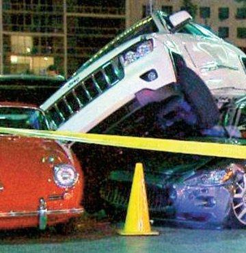400 bin dolarlık vale kazası
