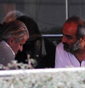 Tugay Kerimoğlu ve Yılmaz Erdoğan hararetli sohbeti
