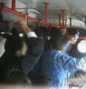 Cinsel taciz, Otobüste taciz