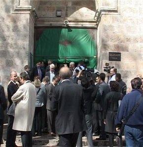 camide başbakan tartışması, ulu cami, bursa