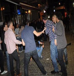 Oyuncu Timur Acar Beyoğlu'nda kavga etti