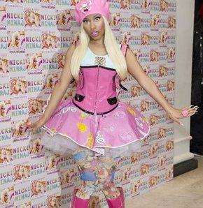 Nicki Minaj'dan yeni imaj