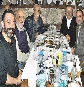Yavuz Turgul, Şener Şen, Şevket Altuğ, Cem Yılmaz ve Ozan Güven buluştu