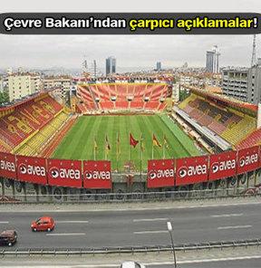 Çevre ve Şehircilik Bakanı Bayraktar, Ali Sami Yen Stadı'nı park yapabileceğini söyledi