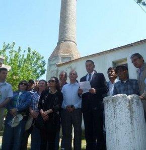 CHP'liler o caminin önünde, İzmir, Seferihisar