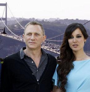 Daniel Craig, İstanbul'a geldi,  James Bond serisinin son filmi Skyfall