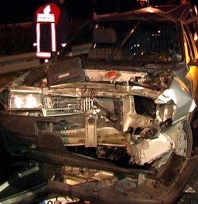 Esenler'de trafik kazası