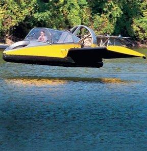 uçan hovercraft