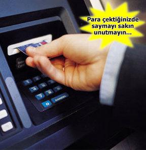 ATM banka kasası eksik para