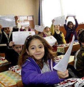 karne, bugün karne günü, sına takvimi, milli eğitim bakanlığı, ömer dinçer, sbs sınavı