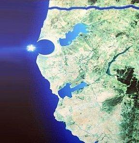 çılgın proje kanal istanbul ay-yıldız şeklinde ada