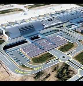 TAV Havalimanları İzmir Adnan Menderes Havalimanı yeni İç Hatlar Terminali Ulaştırma, Denizcilik ve Haberleşeme Bakanı Binali Yıldırım DHMİ Genel Müdürü Orhan Birdal
