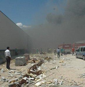 Tuzla'daki fabrikada yangın çıktı