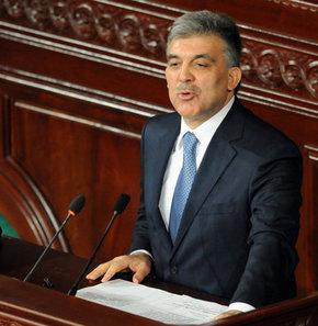 Cumhurbaşkanı Gül'den terörle mücadele açıklaması