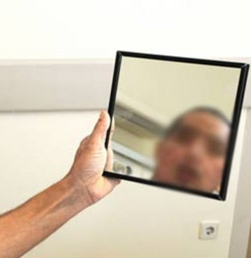Aynada yeni yüzüyle tanıştı!