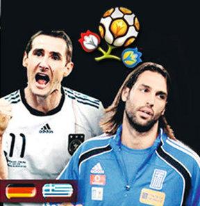 Euro 2012 Yunanistan-Almanya maçı