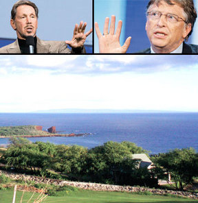 Bill Gates Larry Ellison