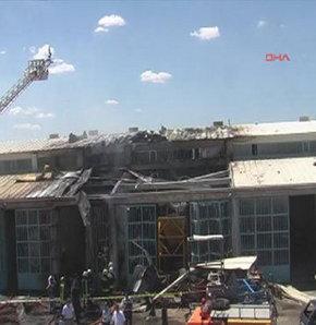 eskişehirde patlama, eskişehir oto tamircileri sitesinde patlama
