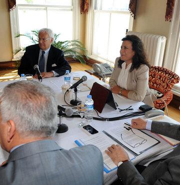 Darbe Komisyonu Teziç'i dinliyor