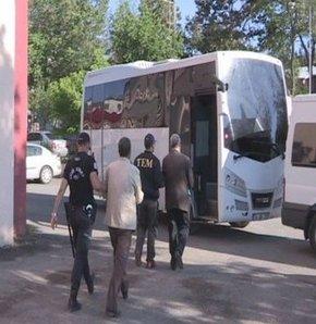 Diyarbakır'da KCK gözaltıları